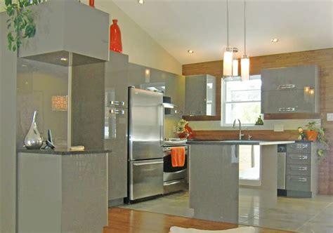 cuisine blanc gris réalisations de style moderne spécialité m m