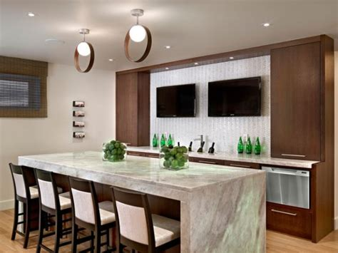 Basement Bar Island by Turn Your Basement Into A Bar 20 Inspiring Designs That
