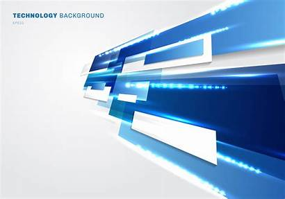 Abstract 3d Background Technology Futuristic Digital Vector