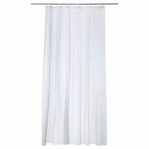 Ikea Rideau Blanc : innaren rideau de douche blanc 180x200 cm ikea ~ Melissatoandfro.com Idées de Décoration