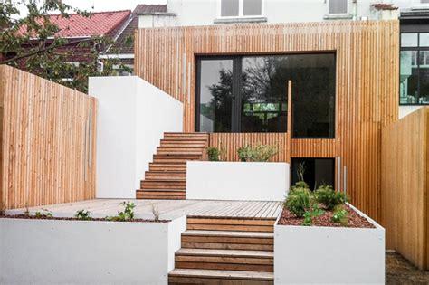 extension cuisine sur jardin fenêtre sur jardin réhabilitation et extension d 39 une