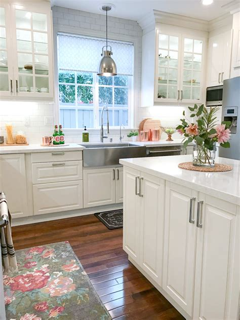 white kitchen with accessories how to accessorize your kitchen for the holidays 1841