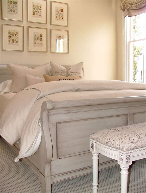 best 20 sleigh bed painted ideas on cherry