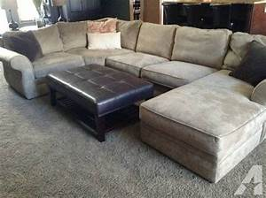 Pottery barn pearce sectional sofa couch for sale in for Pottery barn sectional sofa for sale