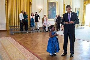 President Obama writes a note excusing a 5-year-old girl ...