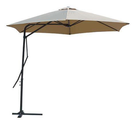 parasol d 233 port 233 rond taupe 3m 192 levier 69 salon d 233 t 233