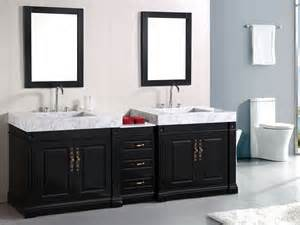 Trough Sink Vanity With Two Faucets by 88 Quot Odyssey Double Sink Vanity Bathgems Com