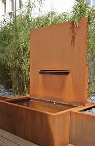 Gartenbrunnen Aus Cortenstahl : gartenbrunnen aus rostigem stahl ~ Sanjose-hotels-ca.com Haus und Dekorationen
