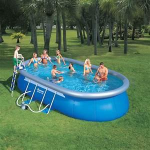 Pool 3 66 X 1 22 : quick up pool ringpool set oval 6 10 x 3 66 x 1 22m inkl ~ Kayakingforconservation.com Haus und Dekorationen