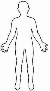 human body outline