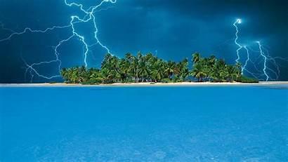 Tropical Wallpapers Windows Backgrounds Popular Island Lightning