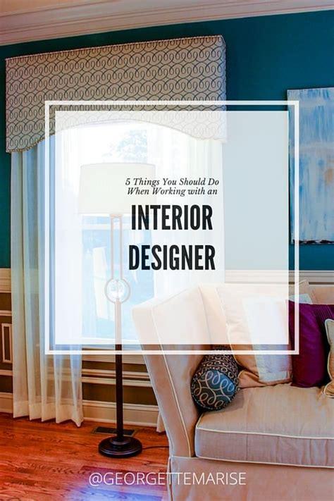 how to hire interior designer georgette marise interiors