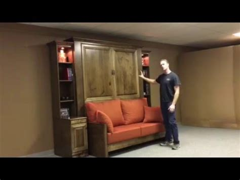 jordan murphy bed  sofa youtube