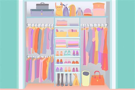 Organize Bedroom Ideas by 20 Ideas For Organizing Your Bedroom Closet Apartment