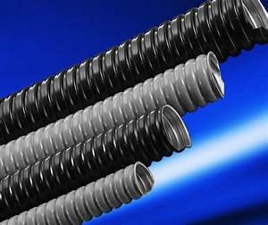 Outdoor Electrical Wire Conduit   2 Inch Flexible Plastic