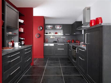 deco cuisine grise déco cuisine noir blanc gris