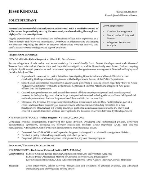 sle resume enforcement sle resume