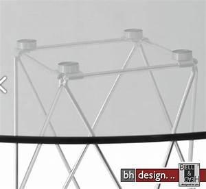Esstisch Rund 100 Cm : traliccio esstisch glas und chrom 100 cm alternativ 110 cm rund powered by bell head ~ Markanthonyermac.com Haus und Dekorationen