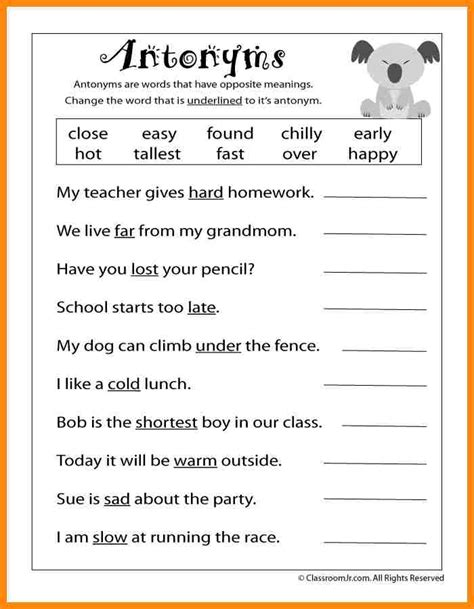 Reading Worksheets For 3rd Grade Worksheets For All  Download And Share Worksheets  Free On