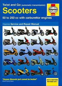 Scooter Repair Manual  50 To 250cc With Carburetor Engine