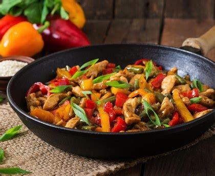 que cuisiner avec des poivrons recettes asiatiques poulet