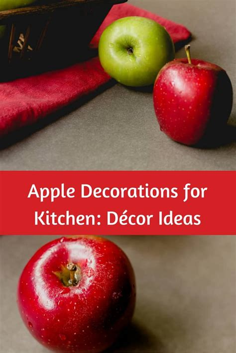 Kitchen Decorating Ideas With Apples by Apple Decorations For Kitchen D 233 Cor Ideas Great Gift Ideas