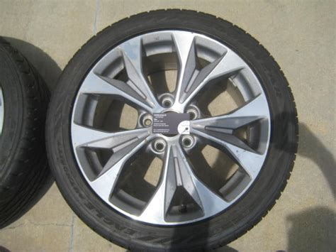 original 2012 2013 honda civic si 17 rims tires 8th gen