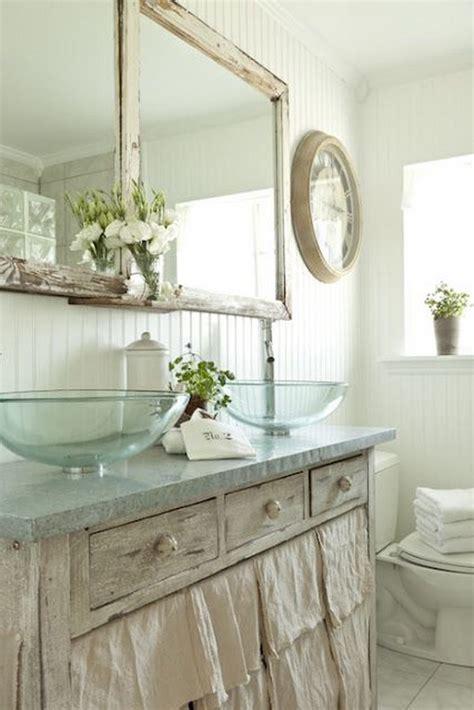 adorable shabby chic bathroom decor ideas shelterness