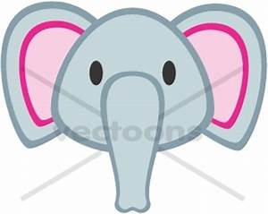 clipart of elephant face - Clipground