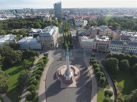 Rīga no putna lidojuma - Spoki