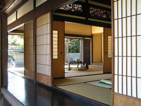 Moderne Japanische Häuser by Japanische H 228 User Wandgestaltung Schiebet 252 Ren Papier Holz