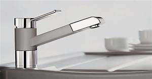 The most popular mixer taps by the german market leader blanco for Blanco armaturen küche