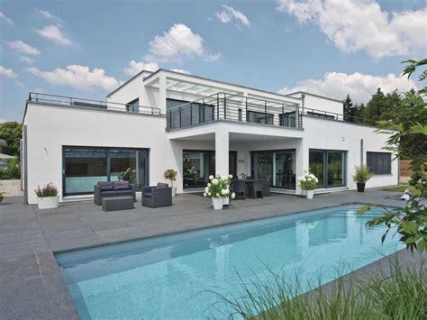 Im Bauhausstil by Luxusvilla Im Bauhaus Stil Weberhaus Musterhaus Net