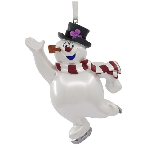 Warner Brothers Frosty The Snowman Skating Christmas Ornament