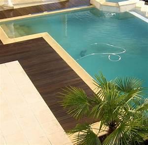 Tour A Bois Pas Cher : tour et contour de piscine en bois exotique resistant a l ~ Melissatoandfro.com Idées de Décoration