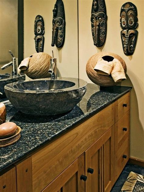 Safari Bathroom Ideas by 33 Striking Africa Inspired Home Decor Ideas Digsdigs