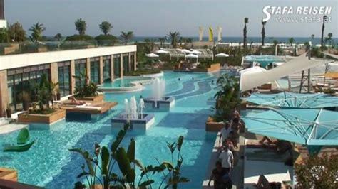 STAFA REISEN Hotelvideo: Sensimar Side Resort, Side - YouTube