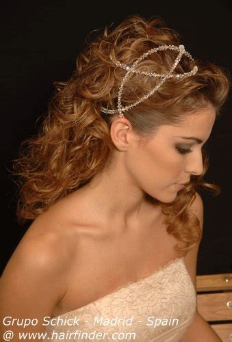 heart grecian wedding hair