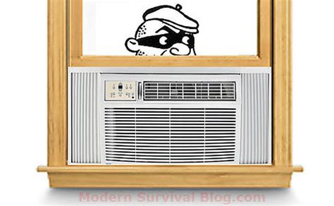 portable window ac security air conditioner lock bars cage