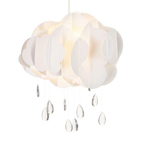 alinea luminaire chambre suspension non électrifiée en forme de nuage blanc cloud