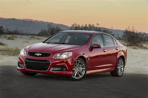 chevrolet ss 2015 chevrolet ss performance sedan gm authority