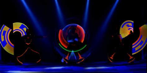illumination light show coupon performance artists pa li tchi of the czech republic use