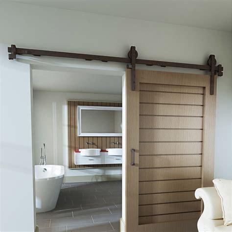 pour porte de rail coulissant et habillage acier cottage pour porte de largeur 93 cm leroy merlin