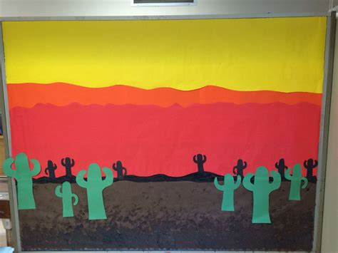 desert themed bulletin board preschool preschool 602 | 67bab35323fd75908572df8771640979