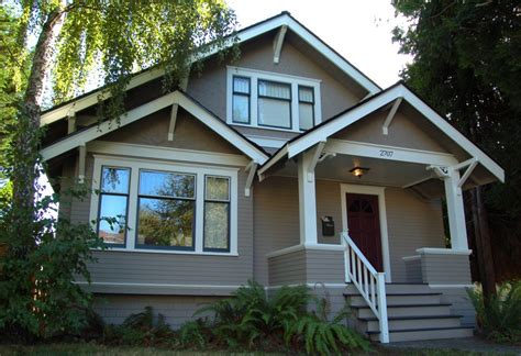 Seattle Ballard Craftsman Style Exterior House Painting