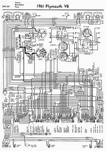 Wiring Diagrams Of 1961 Plymouth V8 Savoy  Belvedere  And Fury  U2013 Circuit Wiring Diagrams