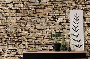 Papier Peint Fausse Pierre : papier peint brique bois biblioth que pour effet mati res ~ Dailycaller-alerts.com Idées de Décoration