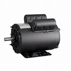 2 Hp Electric Motor 56c Single Phase Tefc 115  230 Volt 3450 Rpm New