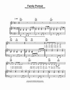 Family Portrait sheet music by Pink (Piano, Vocal & Guitar ...