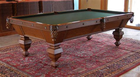 used pool tables michigan new used pool tables for sale from antique brunswick and
